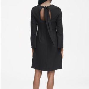NWT Banana Republic Solid Bow-back dress, LBD, 2
